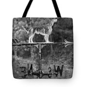 Hound Dog Weather Vane Tote Bag
