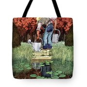 House And Garden Spring Gardening Guide Cover Tote Bag