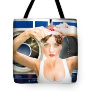 House Work Woman Tote Bag