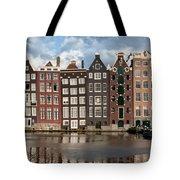 Houses In Amsterdam Tote Bag