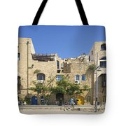 Houses In Jaffa Tel Aviv Israel Tote Bag