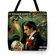 Howard Thurston, American Magician Tote Bag by Photo Researchers