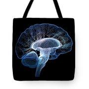 Human Brain Complexity Tote Bag