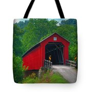 Hune Covered Bridge Tote Bag