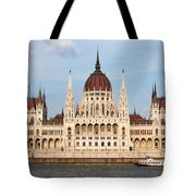 Hungarian Parliament Building In Budapest Tote Bag