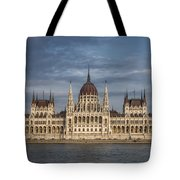 Hungarian Parliament Building Afternoon Tote Bag