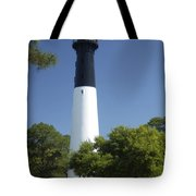 Hunting Island Lighthouse Sc Tote Bag