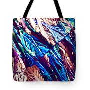 Hydroquinone Crystals In Polarized Light Tote Bag