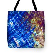 Hydroquinone Microcrystals Color Abstract Art Tote Bag