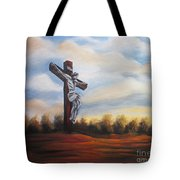 I Am Always With You Tote Bag