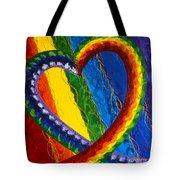 I Am Love Tote Bag by Judy M Watts-Rohanna