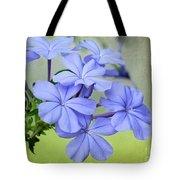 I Love Blue Flowers Tote Bag