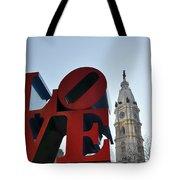 I Love Philadelphia Tote Bag