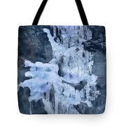 Ice Sculpture Tote Bag
