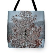 Iced Tree Tote Bag