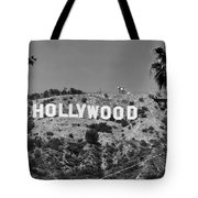 Iconic Hollywood Sign Tote Bag
