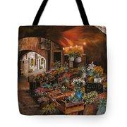 Il Mercato Dei Fiori Tote Bag