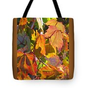 Illumining Autumn Tote Bag