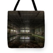 In At The Deep End Tote Bag
