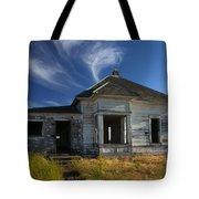 In Ruin Tote Bag by Mike  Dawson