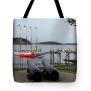 In The Line Of Fire Tote Bag