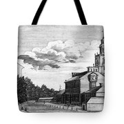 Independence Hall, 1778 Tote Bag