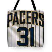 Indiana Pacers Uniform Tote Bag