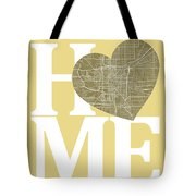 Indianapolis Street Map Home Heart - Indianapolis Indiana Road M Tote Bag