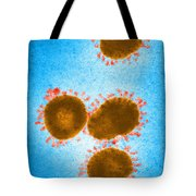 Infectious Bronchitis Virus Tote Bag by Science Source