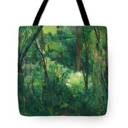 Interior Of A Forest Tote Bag