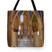 Interior Of St. Mary's Church Tote Bag
