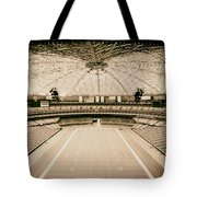 Interior Of The Old Astrodome Tote Bag