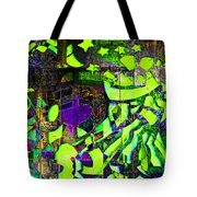 Interstate 10- Exit 259- 22nd St/ Star Pass Blvd Underpass- Rectangle Remix Tote Bag