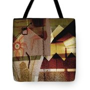 Interstate 10- Exit 259a- 29th St / Silverlake Rd Underpass- Rectangle Remix Tote Bag