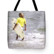 Into The Water Tote Bag