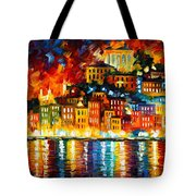 Inviting Harbor Tote Bag