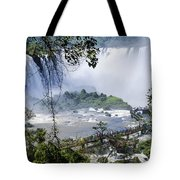 Iquazu Falls - South America Tote Bag