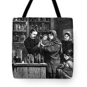 Ireland: Vaccination, 1880 Tote Bag