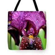 Iris Tongue Tote Bag