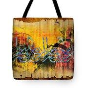 Islamic Calligraphy 028 Tote Bag