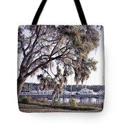 Isle Of Hope Marina Tote Bag