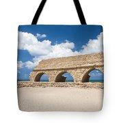 Israel Caesarea Aqueduct  Tote Bag