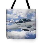 Italian Air Force Eurofighter Typhoon Tote Bag