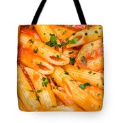 Italian Pasta - Penne All'arrabbiata Tote Bag