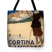 Italian Travel Poster Tote Bag