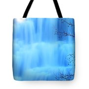 Ithaca Water Falls New York  Tote Bag