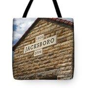 Jacksboro Texas Tote Bag