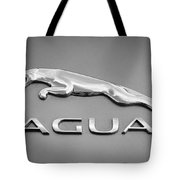 Jaguar F Type Emblem Tote Bag