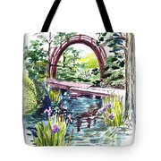 Japanese Tea Garden San Francisco Tote Bag by Irina Sztukowski