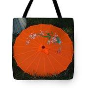 Japanese Umbrella Tote Bag